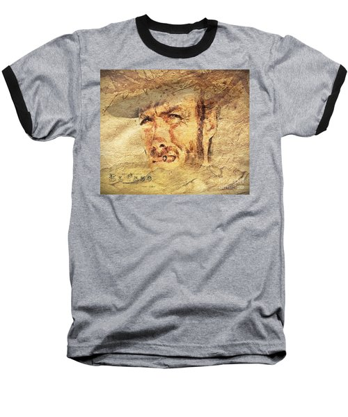 A Man With No Name Baseball T-Shirt