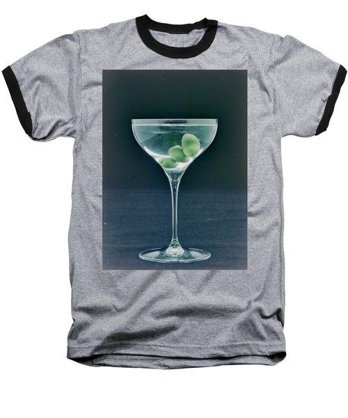 A Martini Baseball T-Shirt