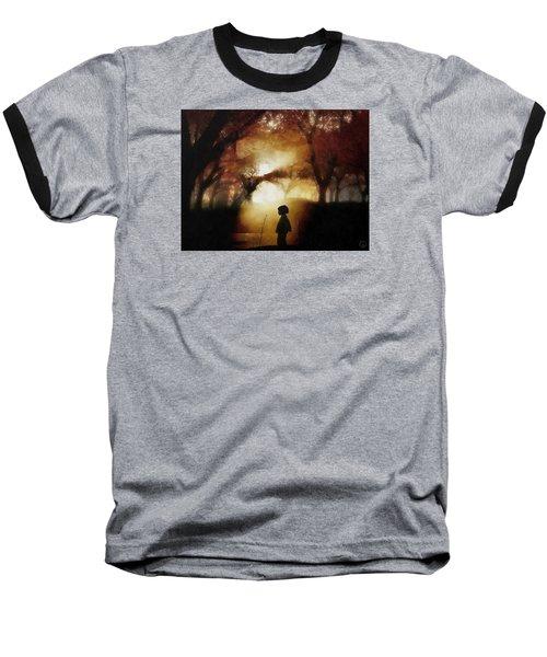 A Moment Beyond Time Baseball T-Shirt by Gun Legler