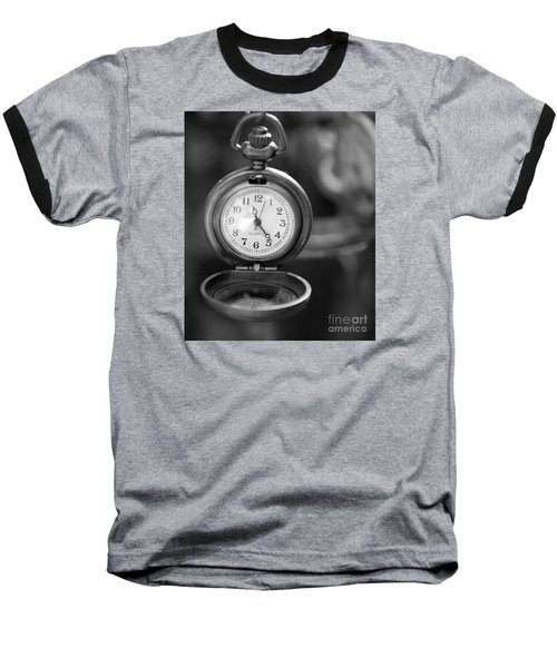 A Moment In Time Baseball T-Shirt by Nina Silver