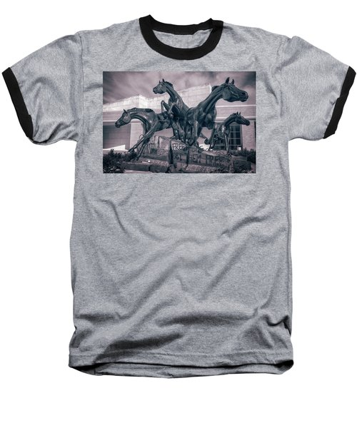 A Monument To Freedom II Baseball T-Shirt