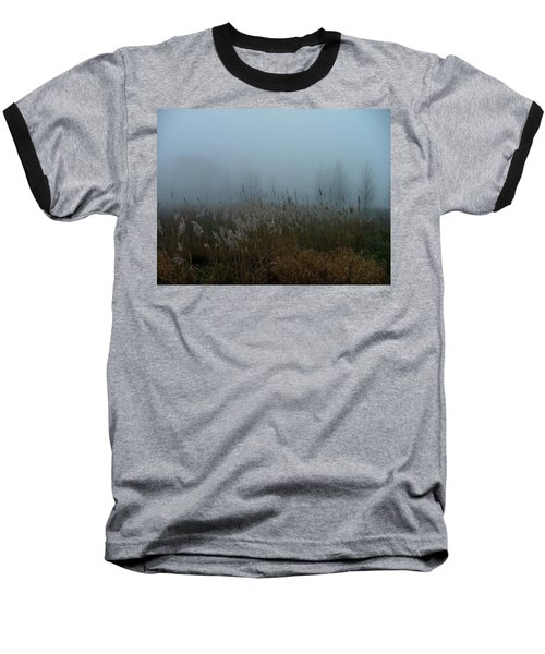 A Morning Fog Baseball T-Shirt