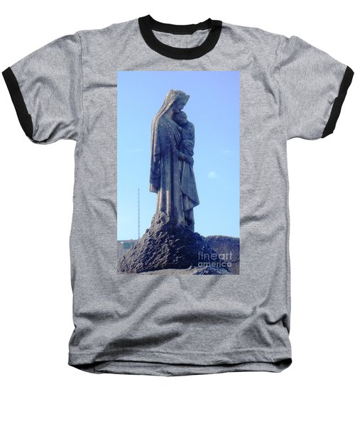 Baseball T-Shirt featuring the photograph A Mother's Love by Alys Caviness-Gober