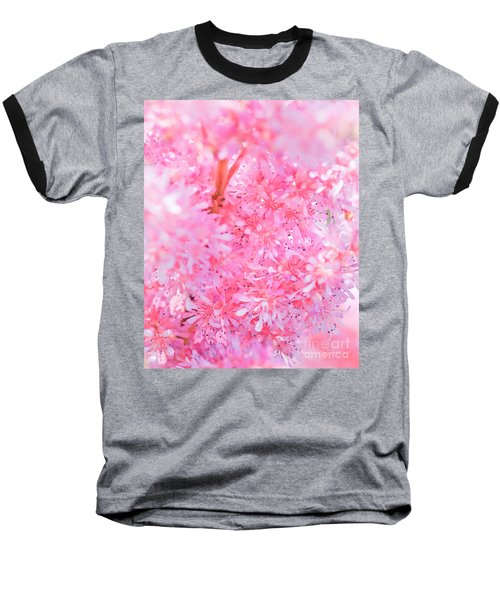 A Natural Pink Bouquet Baseball T-Shirt
