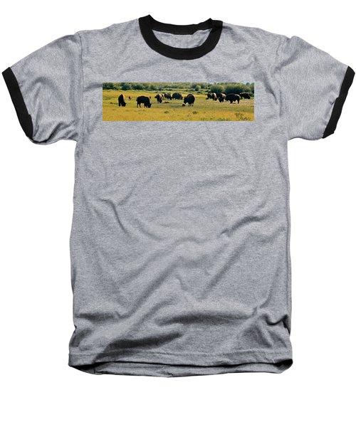 A New Beginning Grand Teton National Park Baseball T-Shirt by Ed  Riche