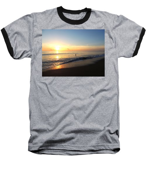 A New Day Begins Baseball T-Shirt