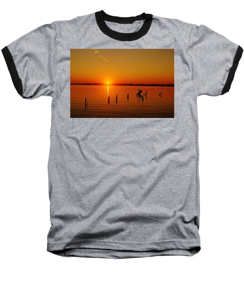 A New Day Dawns... Over Dock Remains Baseball T-Shirt