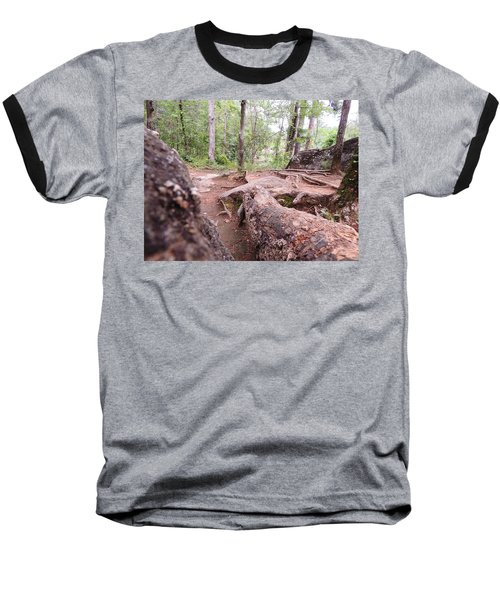 A New View From The Woods Baseball T-Shirt by Aaron Martens