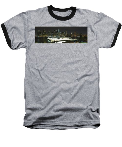 A New York City Night Baseball T-Shirt