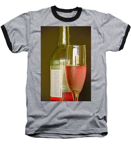 A Nice Glass Of Wine Baseball T-Shirt