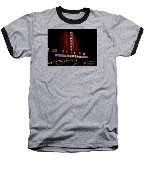 A Night At The Pageant Baseball T-Shirt by Kelly Awad