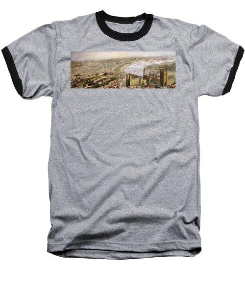 A Panoramic View Of London Baseball T-Shirt