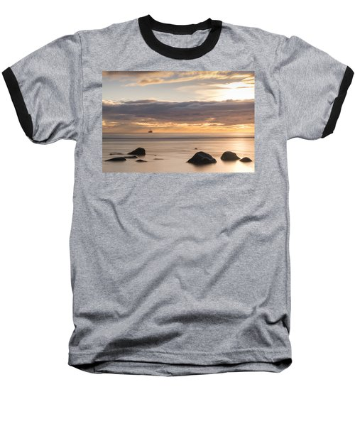 A Peaceful Sunrise Baseball T-Shirt