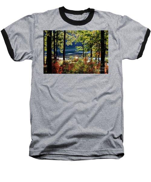 A Peek At Lake O The Pines Baseball T-Shirt