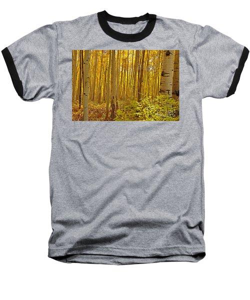 A Peek Into Heaven Baseball T-Shirt