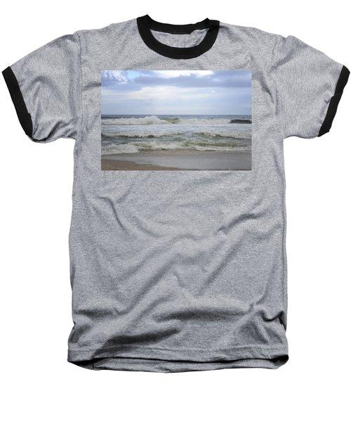 A Peek Of Blue Baseball T-Shirt