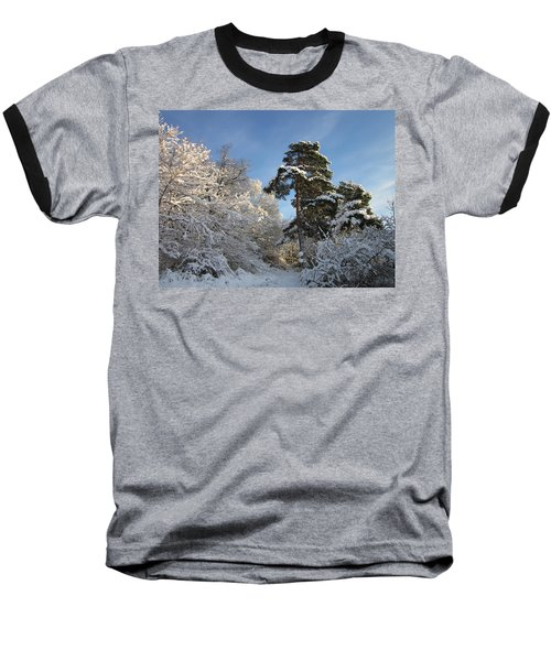 A Perfect Winterday Baseball T-Shirt