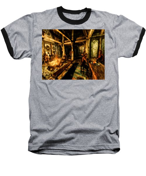 A Place To Relax Baseball T-Shirt by Joe Misrasi