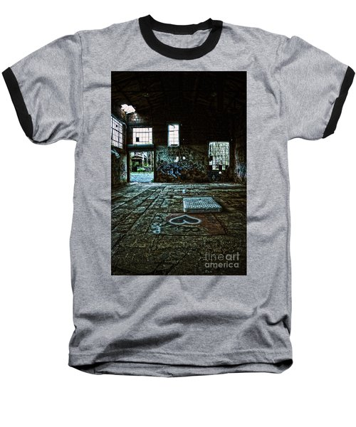 Baseball T-Shirt featuring the photograph A Place With Heart by Debra Fedchin