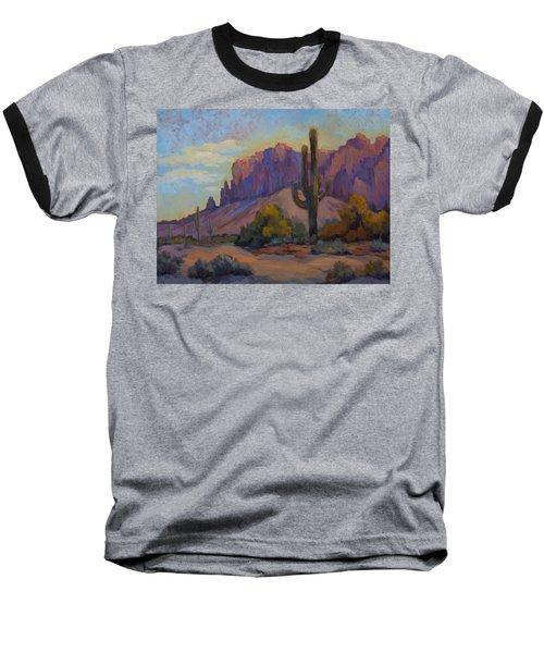 A Proud Saguaro At Superstition Mountain Baseball T-Shirt