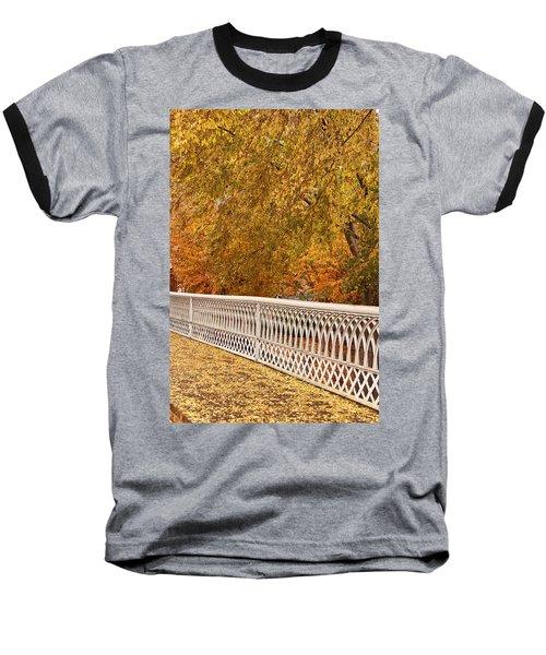 A Quiet Day On The Riverwalk Baseball T-Shirt
