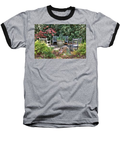 A Quiet Place To Meet Baseball T-Shirt