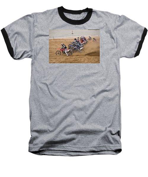 A Racing Start Baseball T-Shirt