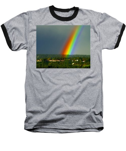 A Rainbow Blessing Spokane Baseball T-Shirt