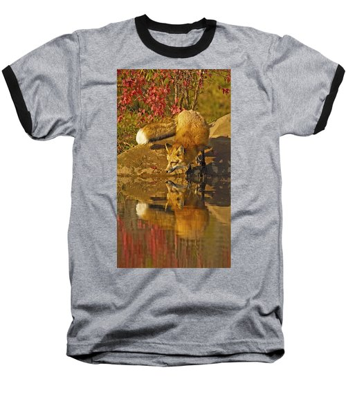 A Real Fox Baseball T-Shirt