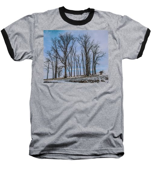 Baseball T-Shirt featuring the photograph A Resting Place by Ray Congrove