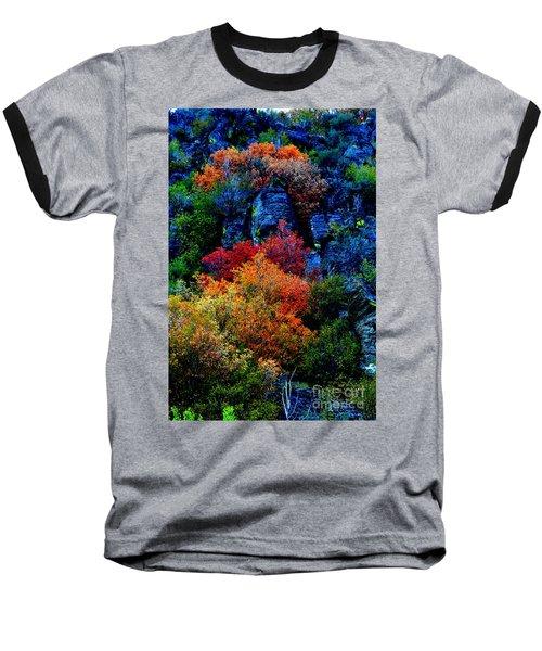A Riot Of Color Baseball T-Shirt