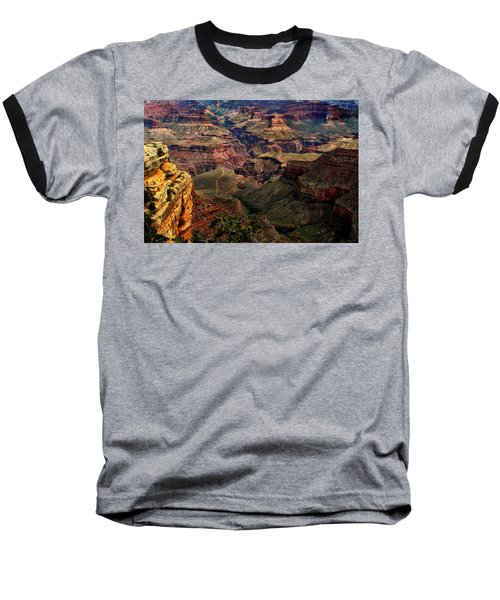 A River Runs Through It-the Grand Canyon Baseball T-Shirt