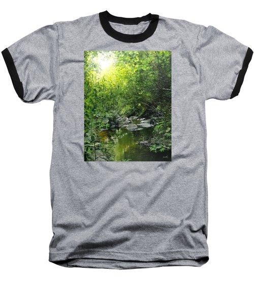 A Road Less Traveled Baseball T-Shirt