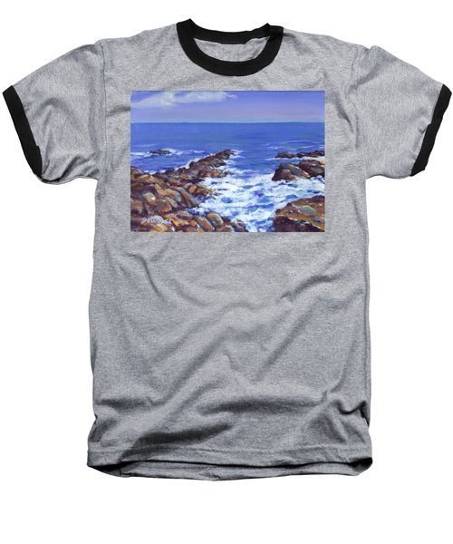 A Rocky Coast Baseball T-Shirt