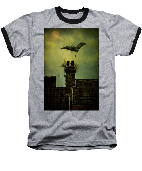 Baseball T-Shirt featuring the photograph A Room For The Night by Chris Lord