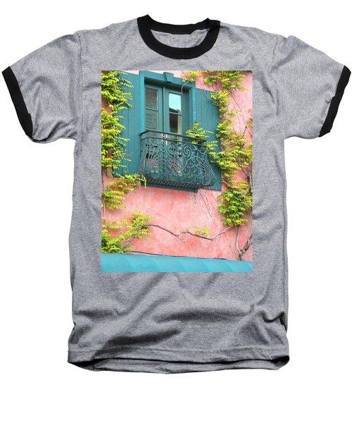 Room With A View Baseball T-Shirt by Brooks Garten Hauschild