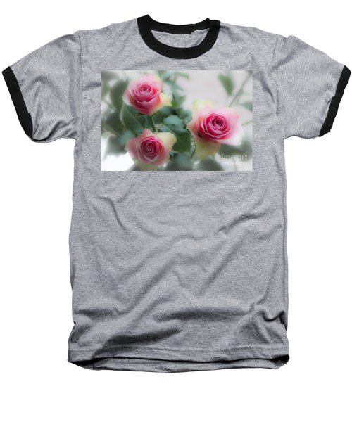 A Rose And A Rose And A Rose Baseball T-Shirt