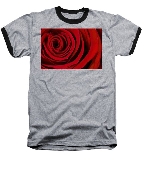 A Rose For Valentine's Day Baseball T-Shirt