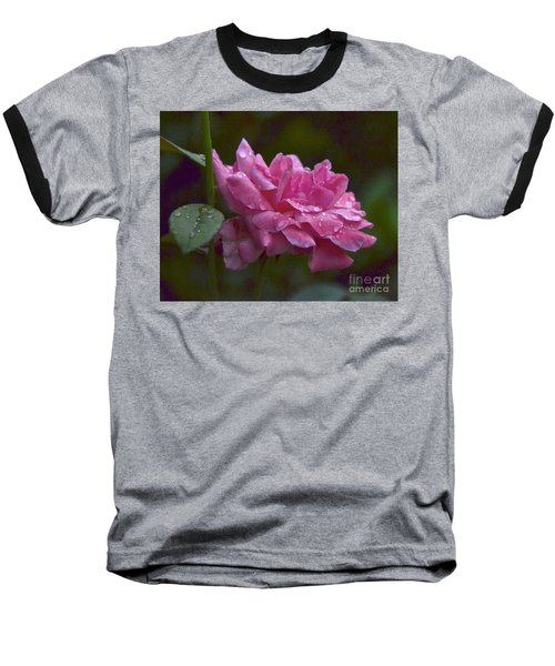 Baseball T-Shirt featuring the photograph A Rose Is A Rose by Carol  Bradley