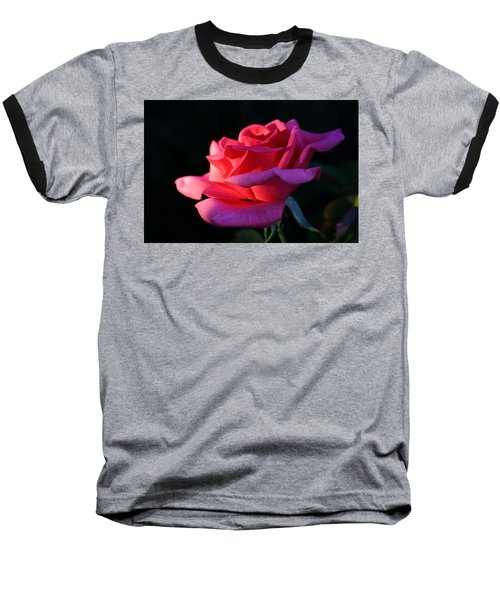 Baseball T-Shirt featuring the photograph A Rose Is A Rose by David Andersen
