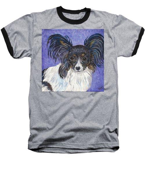 A Royal Papillon Baseball T-Shirt