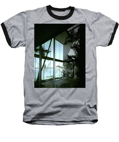 A Screened Patio Baseball T-Shirt