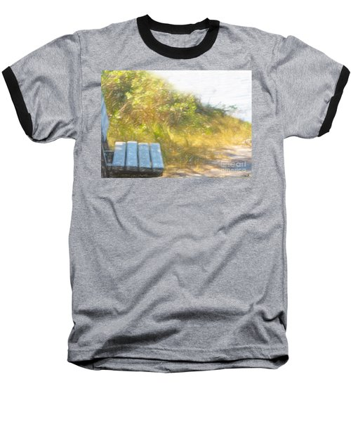 A Seat By The Ocean Baseball T-Shirt