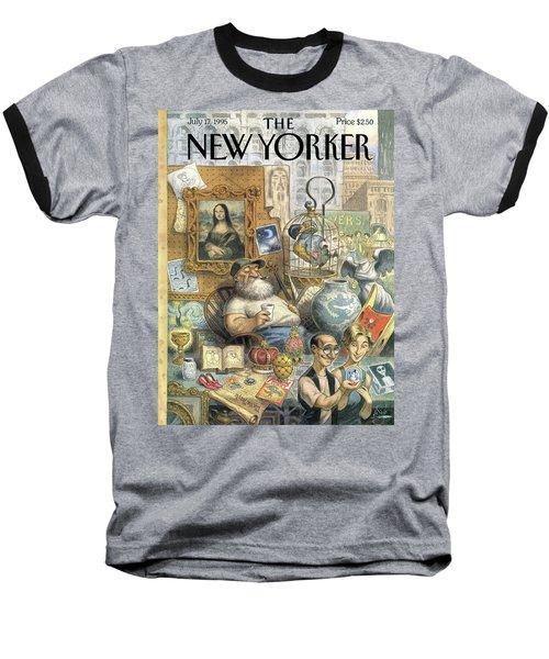 A Shopkeeper Sells Odd Items Baseball T-Shirt