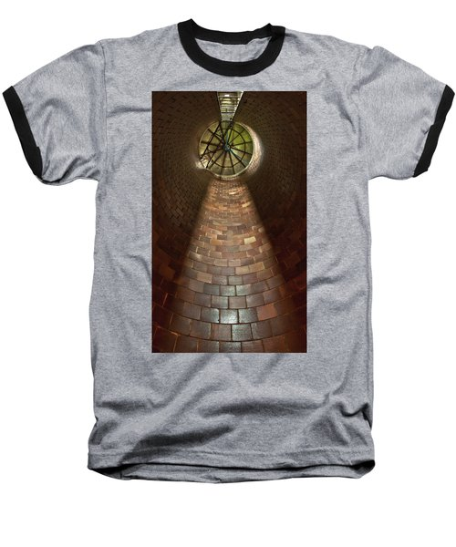 Baseball T-Shirt featuring the photograph A Silo Of Light From Above by Jerry Cowart
