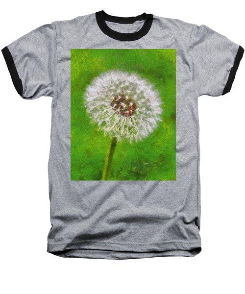 Baseball T-Shirt featuring the painting A Simple Beauty by Joe Misrasi