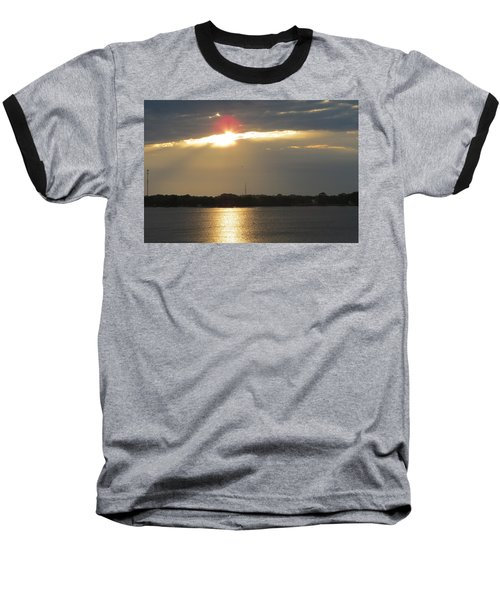 A Slot For The Sun Baseball T-Shirt by Fortunate Findings Shirley Dickerson