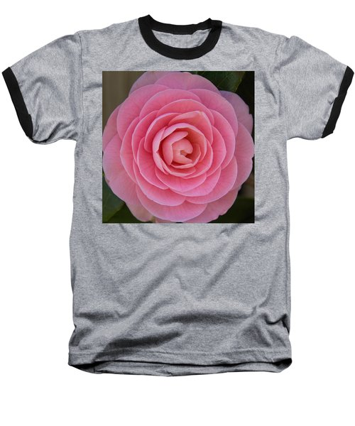 A Soft Blush Baseball T-Shirt