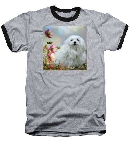 Baseball T-Shirt featuring the photograph A Soft Summer Breeze by Morag Bates