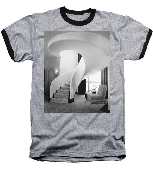 A Spiral Staircase Baseball T-Shirt